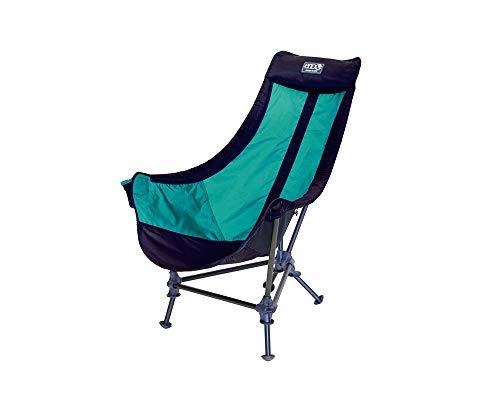 ENO – Silla de camping con diseño de águilas, color azul marino y espuma de mar