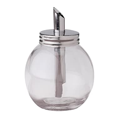 HIC Glass Sugar Dispenser, 7-Ounce