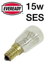 Eveready Pygmy Kühl-/Gefrierschrank-Lampe, 15 W, SES, 20 Stück weiß transparent