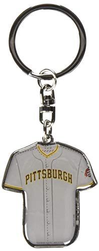 FOCO MLB Pittsburgh Pirates Unisex Double Sided Jersey KEYCHAINDOUBLE Sided Jersey Keychain, Team Color, One Size