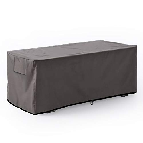 Leader Accessories Waterproof Deck Box/Storage Ottoman Bench Cover for Keter/Lifetime/Suncast/Rubbermaid Deck Box XL-Size