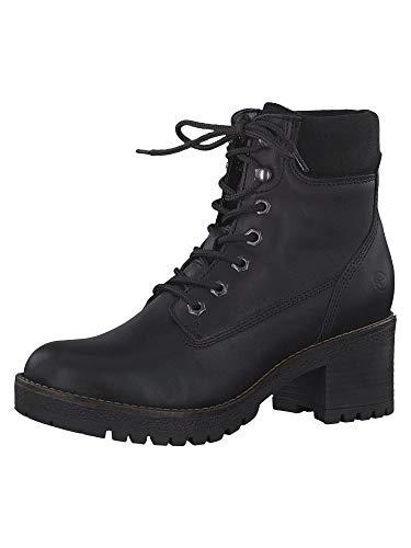 Tamaris Damen 1-1-25954-33 007 Chelsea Boots, Schwarz (Black Uni), 39 Eu