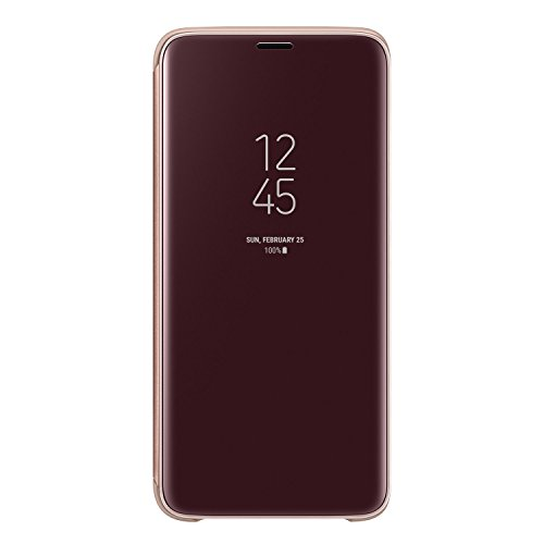 Galaxy Note8用 Clear View Standing Cover【Galaxy純正 国内正規品】ブルー EF-ZN950CNEGJP