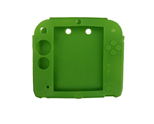 Protective Soft Silicone Rubber Gel Skin Case Cover for Nintendo 2DS (GR)