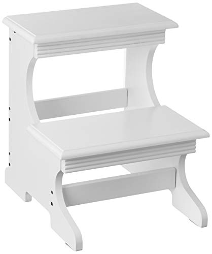 Frenchi Home Furnishing Step Stool, White