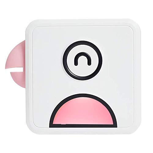 Impresora de Logotipo inalámbrico - Mini Impresora de Fotos de Bolsillo para teléfono Inteligente, PC, versátil para Notas, Diario, Lista, memo