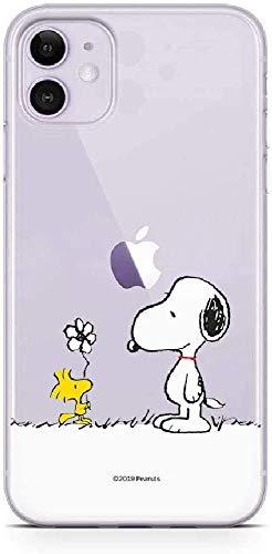 Original und Offiziell Lizenziertes Snoopy Handyhülle für iPhone 11, Case, Hülle, Cover aus Kunststoff TPU-Silikon, schützt vor Stößen und Kratzern