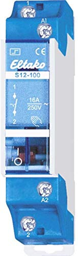 Eltako ELTA Stromstossschalter S12-100-24V, 250 V, Blau