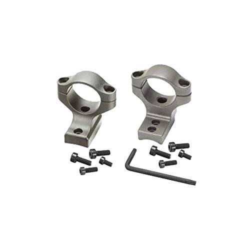 Remington Accessories 19424, Remington 700 Integralx 40mm Mounts, Medium, Silver