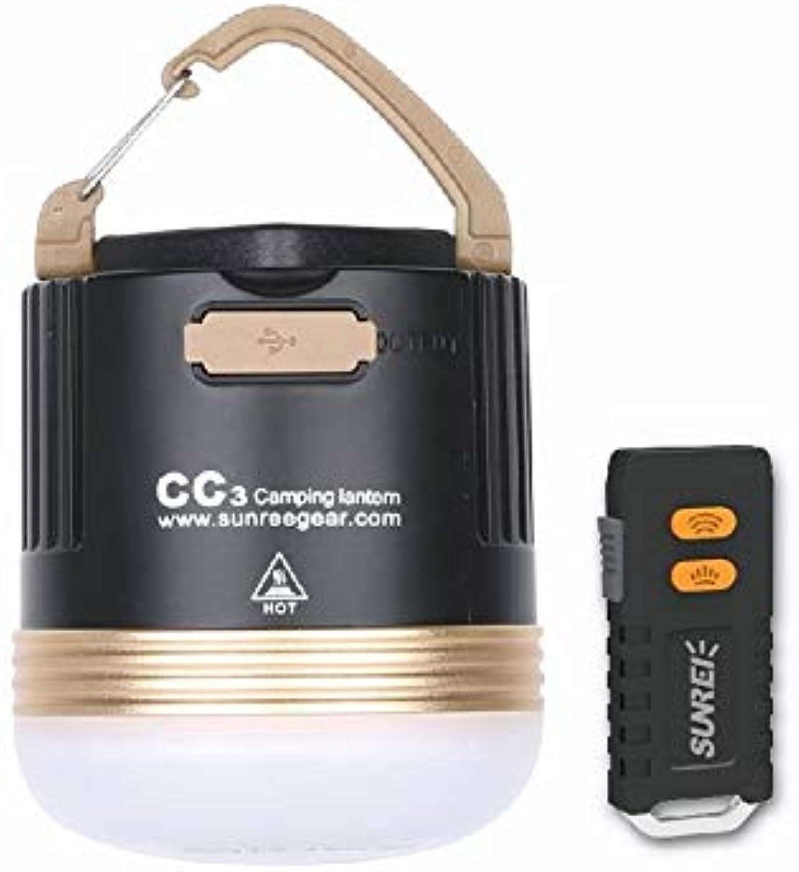 SUNREI Wiederaufladbare Camping Magnetic Cob LED