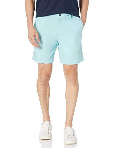 Amazon Essentials Regular-fit Lightweight Stretch 7' Short Pantalones Cortos, Azul Claro, 30W