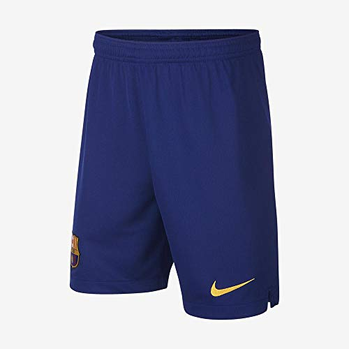 Nike Kinder Shorts FCB Breathe Stadium Ha, Deep Royal Blue/Varsity Maize, XL, AO1942