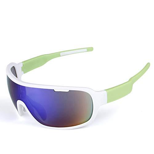 WWDKF Gafas De Sol,Gafas De Sol Polarizadas para Deportes Al Aire Libre,Anti-Ultravioleta,Anti-Choque,Anti-Chisporroteo, Anti-Arena, A Prueba De Viento, Reduce La Fatiga Visual, Filtro, Unisex,F