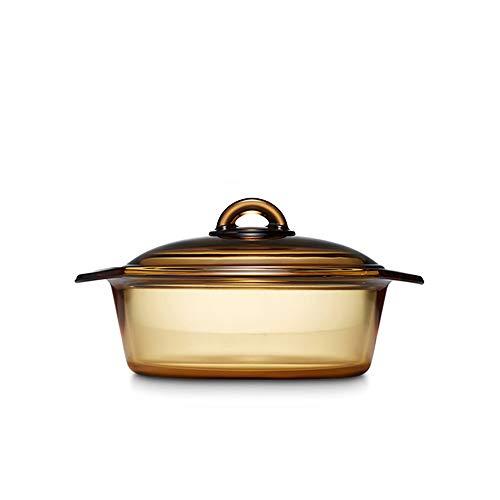 Luminarc Vitro Blooming Heat-resistant Glass Cooking Pot (2L)