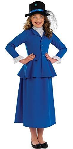 Ragazza shoperama Mary Poppins riccamente vittoriane 4-12 anni dimensioni 104 - 152