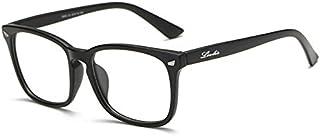 Livhò Blue Light Blocking Computer Glasses, Tablet/Gaming/TV/Phones Glasses for Women Men, Anti Eyestrain Filter UV Glare & Reduce Headache Eyewear Fake Glasses - 0.0 Magnification