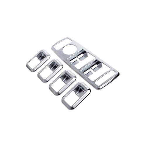 PEIPEI HanGao 2020 una Nueva Ventana Chrome Interruptor Ajuste de la Cubierta en Forma for el Mercedes Benz Clase GLK C W176 W246 W204 Elegante y Hermoso
