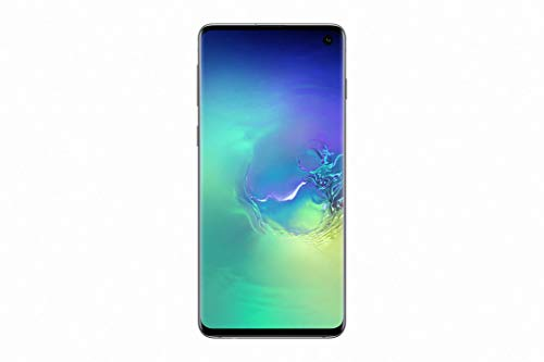 "Samsung Galaxy S10 Smartphone, 512GB,  Display 6.1"", Dual SIM,  Verde (Prism Green) [Versione Francese]"