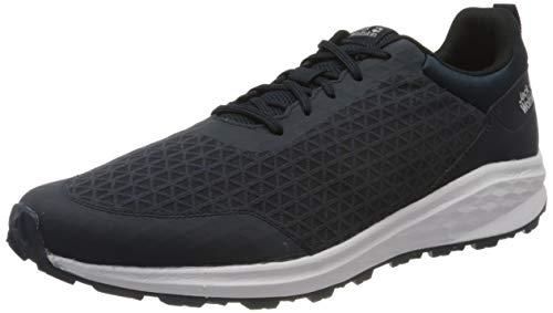 Jack Wolfskin Herren Coogee LITE Low M Sneaker, Dark Blue/Black, 42 EU