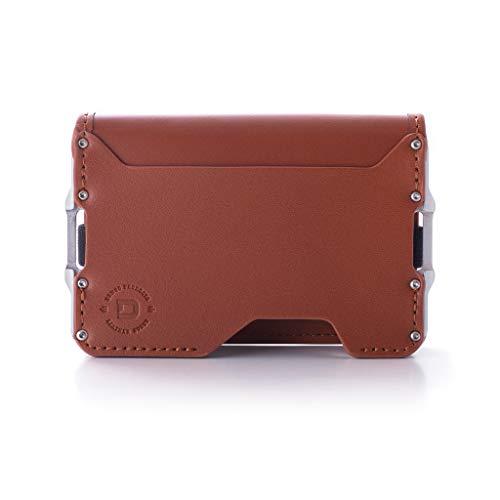 Dango D03 Dapper Bifold EDC Wallet - Made in USA - Genuine Leather,...