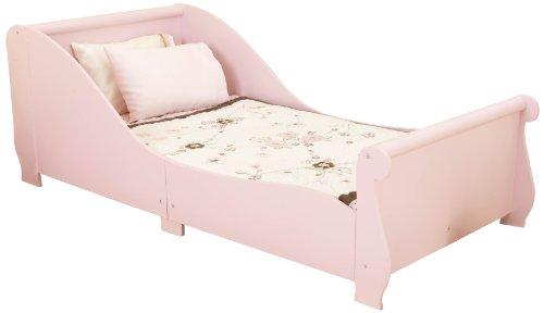 KidKraft 86735 - Pferdesschlitten Kinderbett, rosa