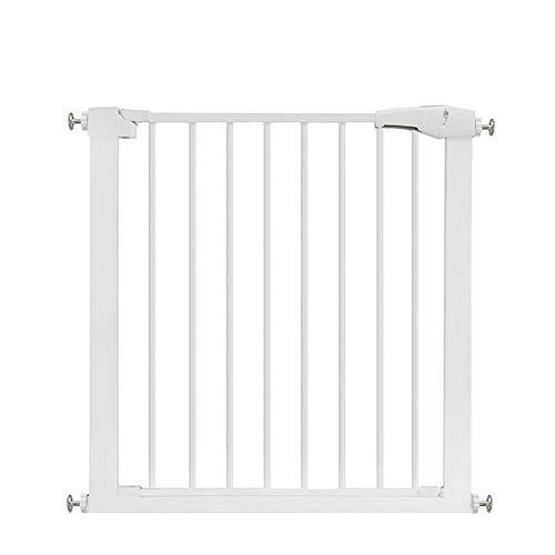 FUTN automatische nabijheid trapdeur, het metalen veiligheidsdoel 3-in-1 loopstuk, brandbeveiliging en ruimteverdeler van 75 tot 82 cm verlengd (+ 7-80 cm), zonder te boren.