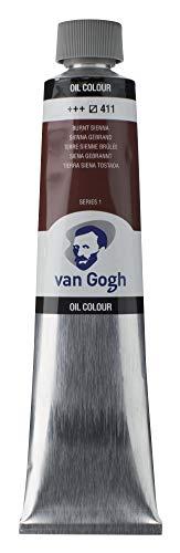 Van Gogh Oil Color Paint, 200ml Tube, Burnt Sienna 411