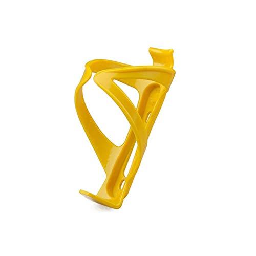 SASCD Sostenedor de la Botella de Agua de la Bicicleta, Jaulas plástica Ajustable del Ciclo de la Bicicleta Bicicleta de montaña, Ciclismo Accesorios Portabidones (Color : 1pcs Yellow)
