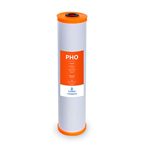 """Express Water – Polyphosphate Anti-Scale Water Replacement Filter – Whole House Replacement Water Filter – PHO High Capacity Water Filter – 4.5"""" x 20"""" inch"""