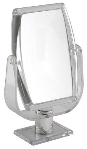 Miroir rectangulaire sur Pied grossissant 10X