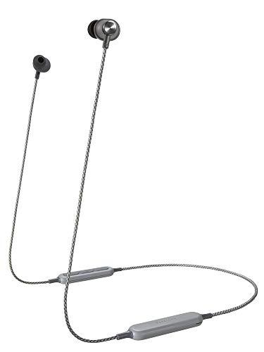 Panasonic RP-HTX20BE-H In-Ear Kopfhörer Bluetooth (8,5 h Akkulaufzeit, Quick-Charge, Sprachsteuerung, Kopfhörer wireless) grau