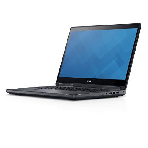 Dell Precision 7710 - Ordenador portátil de 17,3 pulgadas, Full HD IPS (Intel Core i7-6820HQ / 2,70 GHz, 16 GB de RAM, 240 GB SSD + 1 TB HDD , NVIDIA Quadro M3000M 4 GB, WiFi, Windows 10 profesional)