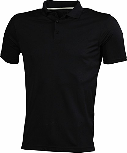 James & Nicholson - Poloshirt High Performance mit UV-Schutz / black, S