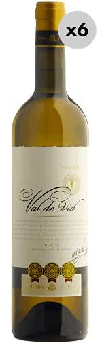 Val de Vid Rueda Verdejo, Vino Blanco, 6 Botellas, 75 cl