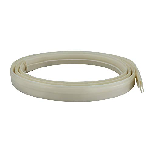 RecPro RV Roof Vent Seal White Vinyl Seal 51' RV Seal Replacement for...