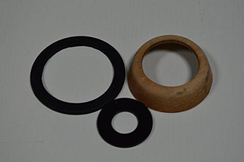 1 X Puteus Dichtungsset 19407-E für Schwengelpumpe Gartenpumpe Handpumpe, • 1 Set besteht aus je 1X Kolbenmanschette, Flansch- und Nasenstechventildichtung