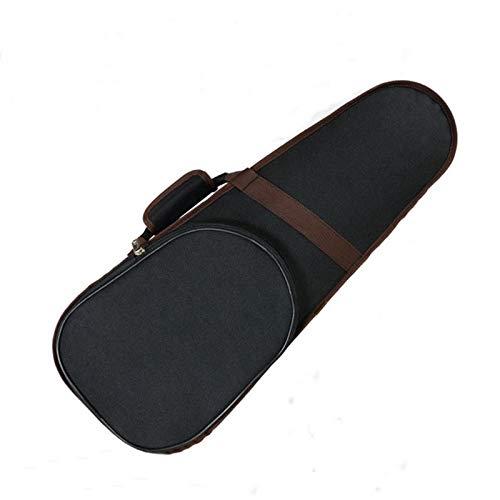 KDOAE Geigenkoffer Leichter Rucksack-Art-Musik 4/4 Violine-Hard-Tragetasche mit Rucksack-Style-Trägern Der Schultergurt (Color : Black, Size : 4/4)