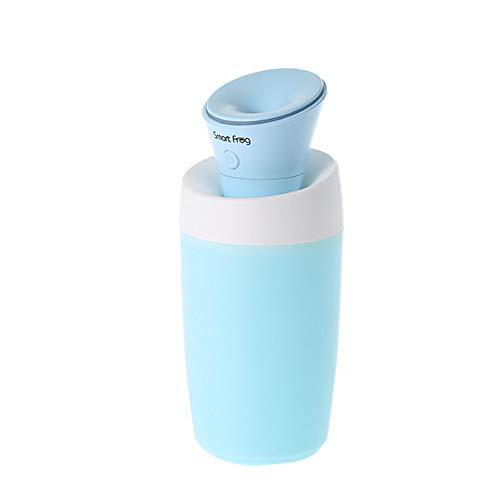 Dingong Humidificateur,Lily humidificateur humidificateur de voiture purificateur d'air silencieux humidificateur atomiseur (Bleu)