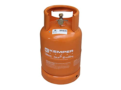 Kemper-1161 bouteille vide 3 Kg attaque italien Orange color : Orange
