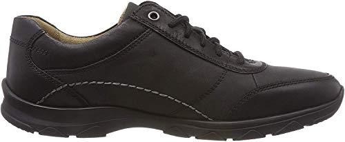 camel active Herren Spark 12 Sneaker, Schwarz (Black 1), 42 EU