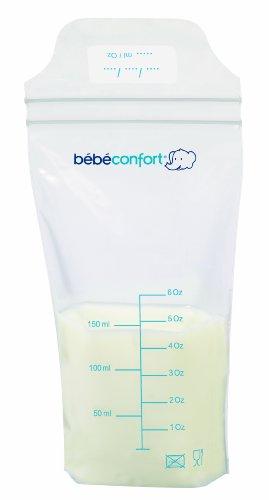 Bébé Confort 25 Sachets De Conservation Du Lait 150Ml