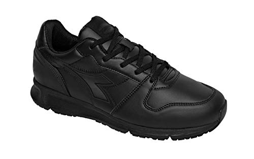 Diadora Crew Micro OB SRC, Chaussure de Piste d'athlétisme Homme, Black/Black, 42 EU