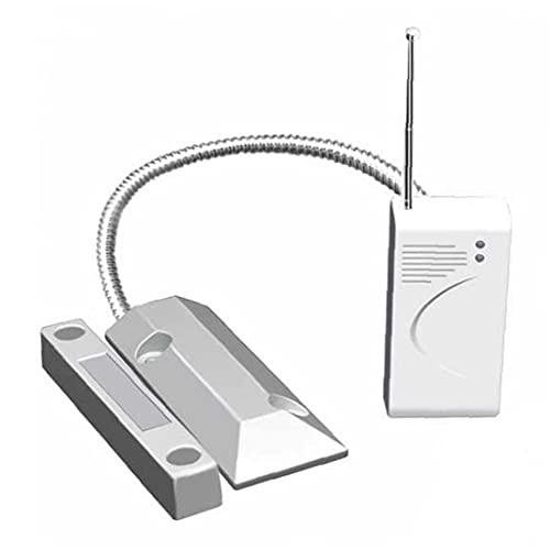 Sensore della porta wireless 433MHz Mini rilevatore di contatto magnetico Kit di sicurezza del garage Home Garage