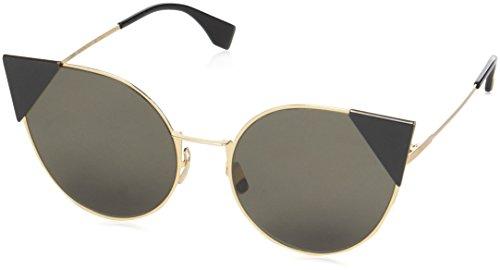 FENDI FF 0190/S 2M 000 Gafas de sol, Dorado (Rose Gold/Brown Ar), 57 para Mujer