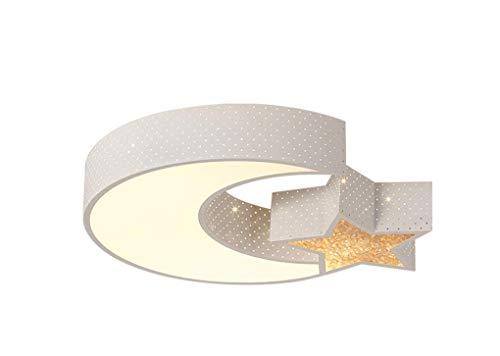 lámpara de techo Dormitorio de techo LED de niños caliente de la luz luz de techo de la historieta de la Luz (regulable) (Tamaño: 60 * 10 cm) luz de techo empotrada (Size : 50 * 10cm)