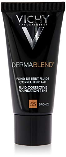 Dermablend Fondotinta correttore 55 di Vichy, Fondotinta Donna - Tubetto 30 ml