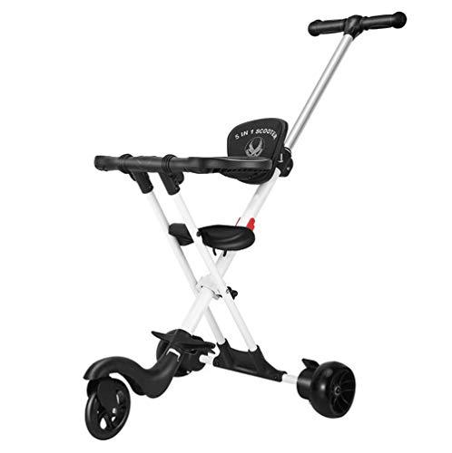 Aluminium Trike Micro Mini Baby Kinderwagen Gemakkelijk Reizen Op Gadget Buggy Alternatieve 3 Wiel (1-6 jaar oud)