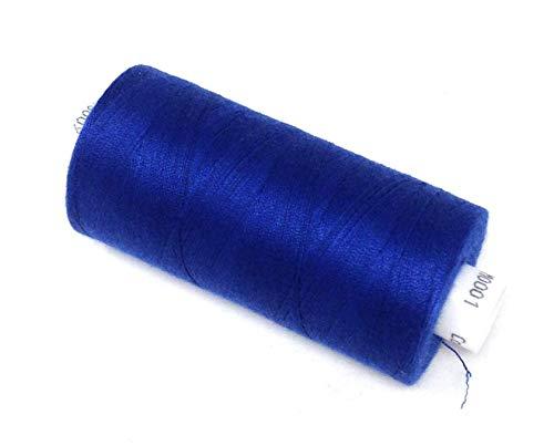 10 X Hilo Poliéster Royal Azul Mano Máquina de Coser Thread 1000yrds M001