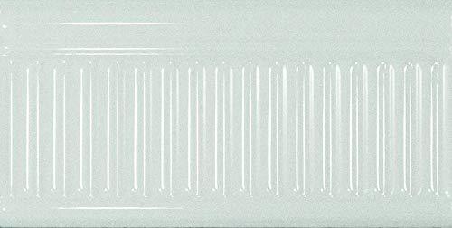 Nais - Baldosas cerámicas para paredes de interior - Colección Evolution - Color Rex Blanco (7,5x15 cm) - Caja de 0,82 m2 (72 piezas)