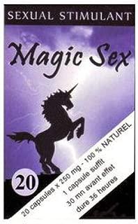 Magic Sex para hombre afrodisíaco X 20: Amazon.es: Salud y cuidado ...